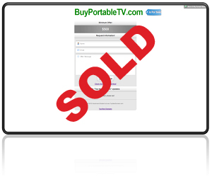 BuyPortableTV SOLD!